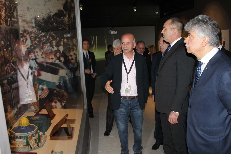 الرئيس البلغاري في زيارة للمتحف