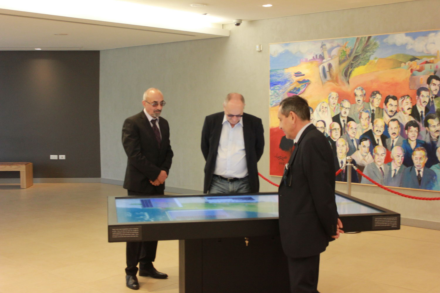 A delegation from the Republic of Bulgaria visits Yasser Arafat Memorial