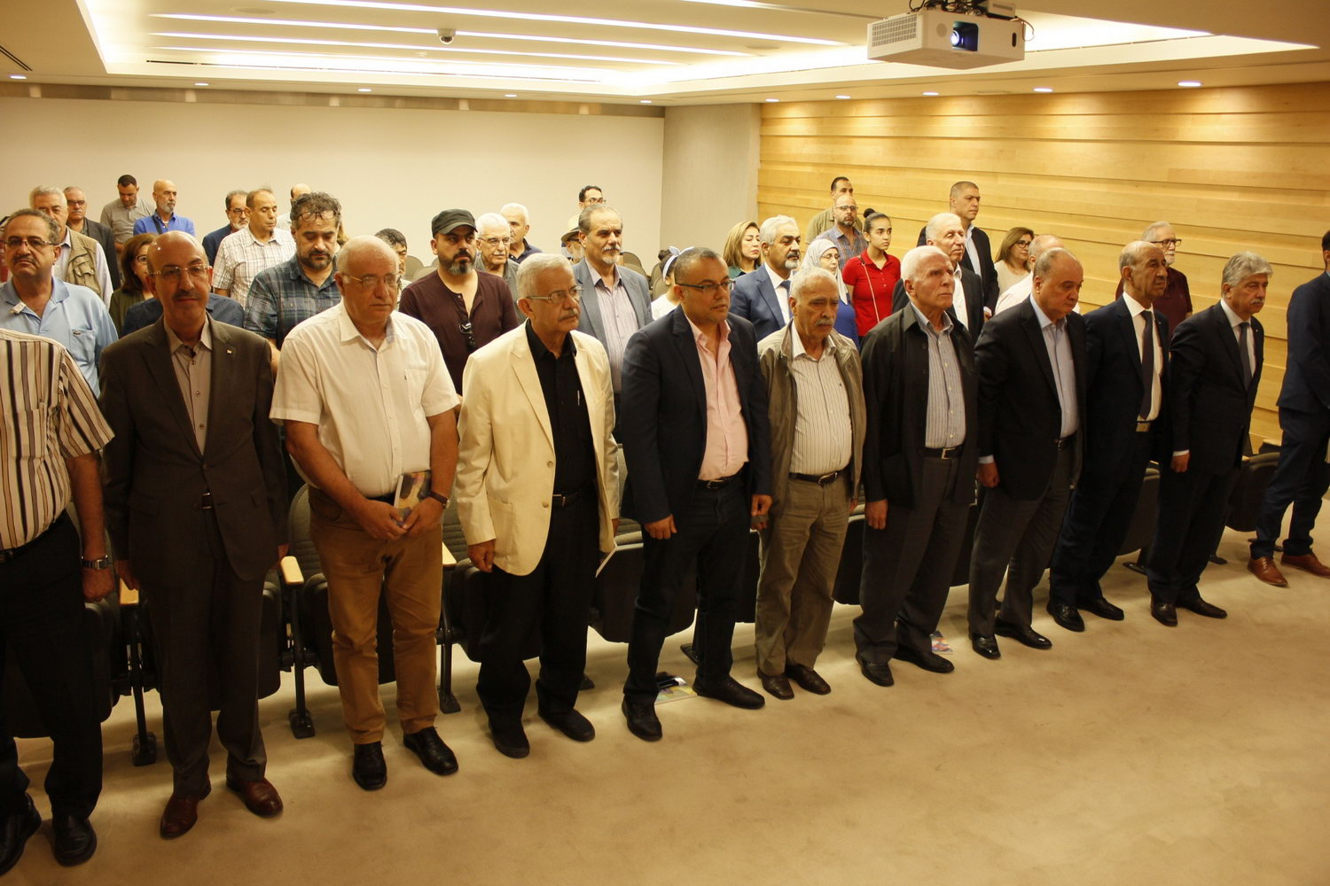 Commemorative Lecture on the First Anniversary of the Passing of Artist Samir Salameh