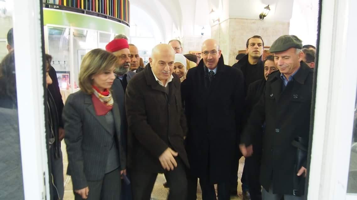 Yasser Arafat Museum Opens Intifada Exhibition in Nablus