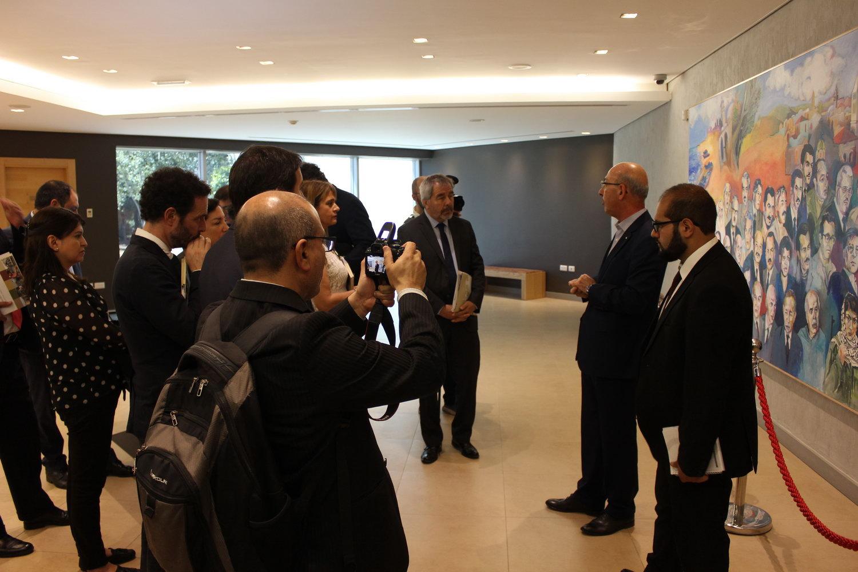 Chilean Parliamentary Delegation Visits Yasser Arafat Museum